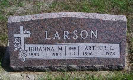LARSON, JOHANNA M - Lincoln County, South Dakota | JOHANNA M LARSON - South Dakota Gravestone Photos