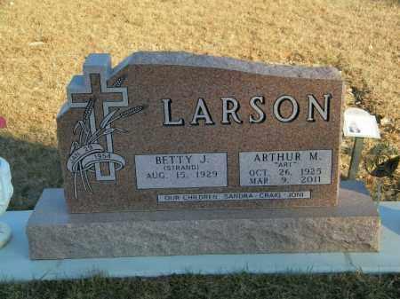 LARSON, ARTHUR M - Lincoln County, South Dakota | ARTHUR M LARSON - South Dakota Gravestone Photos