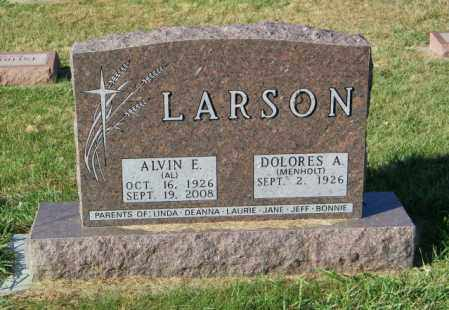 LARSON, ALVIN E. - Lincoln County, South Dakota | ALVIN E. LARSON - South Dakota Gravestone Photos