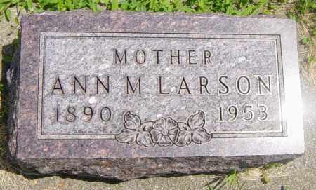 LARSON, ANN M - Lincoln County, South Dakota | ANN M LARSON - South Dakota Gravestone Photos