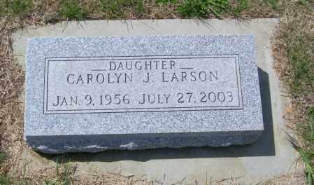 LARSON, CAROLYN J - Lincoln County, South Dakota   CAROLYN J LARSON - South Dakota Gravestone Photos