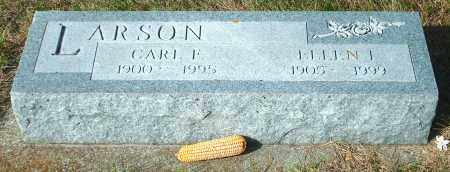 LARSON, ELLEN I - Lincoln County, South Dakota | ELLEN I LARSON - South Dakota Gravestone Photos