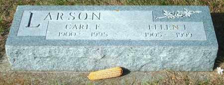 LARSON, CARL F - Lincoln County, South Dakota | CARL F LARSON - South Dakota Gravestone Photos
