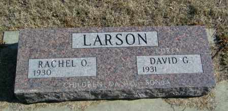 LARSON, RACHEL O - Lincoln County, South Dakota | RACHEL O LARSON - South Dakota Gravestone Photos