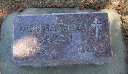 LARSON, DONNA MAE - Lincoln County, South Dakota | DONNA MAE LARSON - South Dakota Gravestone Photos