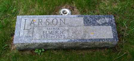 LARSON, ELMER N - Lincoln County, South Dakota   ELMER N LARSON - South Dakota Gravestone Photos