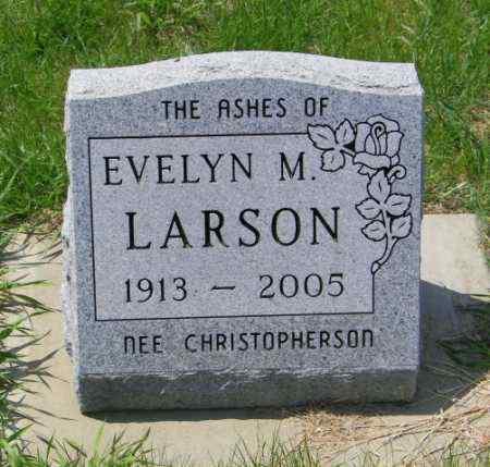 LARSON, EVELYN M - Lincoln County, South Dakota | EVELYN M LARSON - South Dakota Gravestone Photos