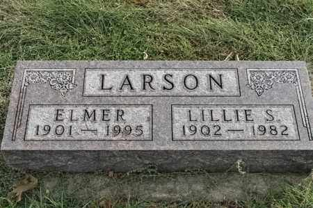 LARSON, ELMER - Lincoln County, South Dakota | ELMER LARSON - South Dakota Gravestone Photos