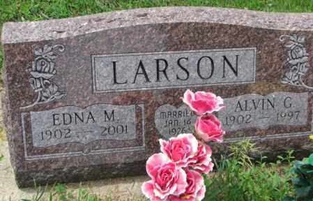 LARSON, ALVIN G. - Lincoln County, South Dakota | ALVIN G. LARSON - South Dakota Gravestone Photos