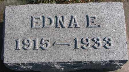 LARSON, EDNA E. - Lincoln County, South Dakota | EDNA E. LARSON - South Dakota Gravestone Photos