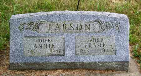LARSON, ANNIE - Lincoln County, South Dakota | ANNIE LARSON - South Dakota Gravestone Photos