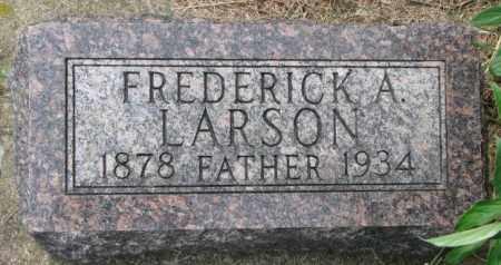 LARSON, FREDERICK A. - Lincoln County, South Dakota | FREDERICK A. LARSON - South Dakota Gravestone Photos