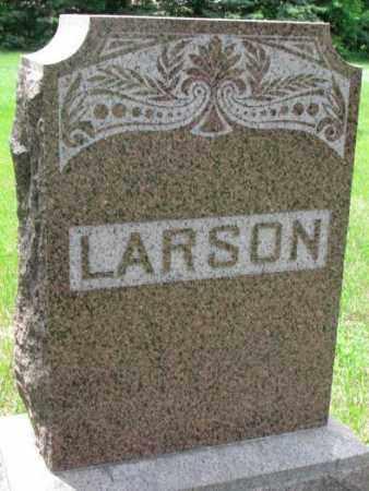 LARSON, FAMILY PLOT MARKER - Lincoln County, South Dakota   FAMILY PLOT MARKER LARSON - South Dakota Gravestone Photos