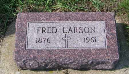 LARSON, FRED - Lincoln County, South Dakota | FRED LARSON - South Dakota Gravestone Photos