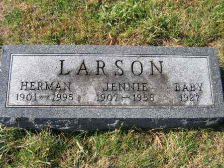 LARSON, BABY - Lincoln County, South Dakota | BABY LARSON - South Dakota Gravestone Photos