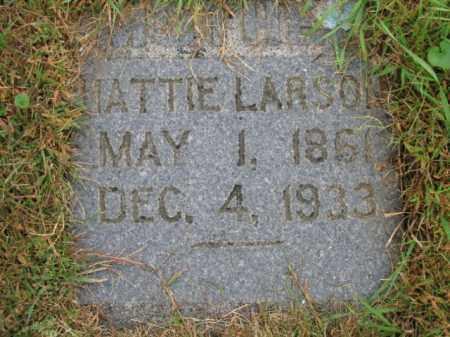 LARSON, HATTIE - Lincoln County, South Dakota   HATTIE LARSON - South Dakota Gravestone Photos