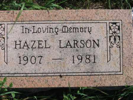 LARSON, HAZEL - Lincoln County, South Dakota   HAZEL LARSON - South Dakota Gravestone Photos