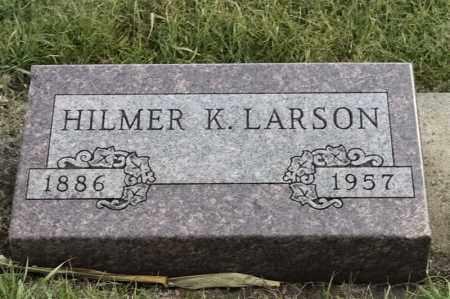 LARSON, HILMER - Lincoln County, South Dakota | HILMER LARSON - South Dakota Gravestone Photos