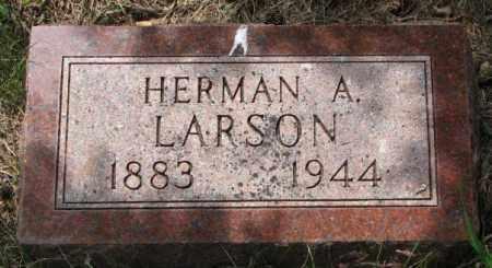 LARSON, HERMAN A. - Lincoln County, South Dakota | HERMAN A. LARSON - South Dakota Gravestone Photos