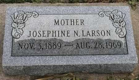 LARSON, JOSEPHINE N - Lincoln County, South Dakota | JOSEPHINE N LARSON - South Dakota Gravestone Photos