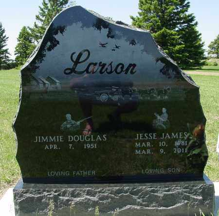 LARSON, JIMMIE DOUGLAS - Lincoln County, South Dakota | JIMMIE DOUGLAS LARSON - South Dakota Gravestone Photos