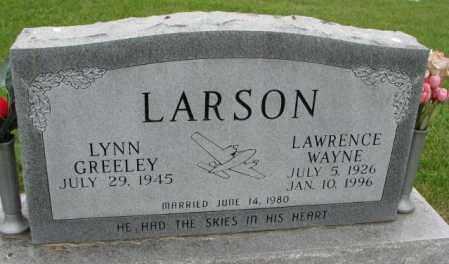 LARSON, LYNN - Lincoln County, South Dakota | LYNN LARSON - South Dakota Gravestone Photos