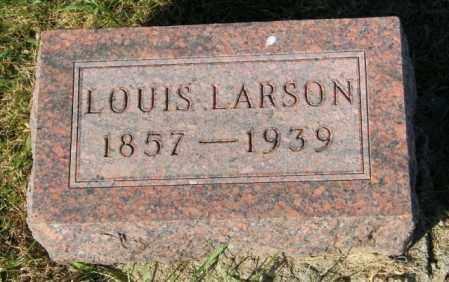 LARSON, LOUIS - Lincoln County, South Dakota | LOUIS LARSON - South Dakota Gravestone Photos