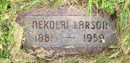 LARSON, NEKOLAI - Lincoln County, South Dakota | NEKOLAI LARSON - South Dakota Gravestone Photos