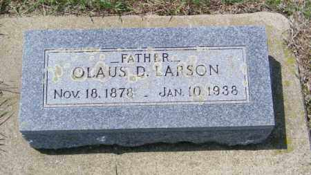 LARSON, OLAUS D - Lincoln County, South Dakota | OLAUS D LARSON - South Dakota Gravestone Photos