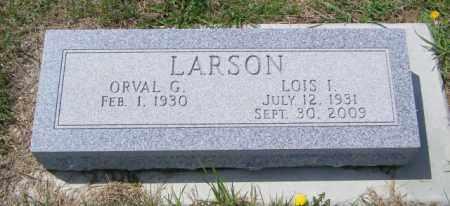 LARSON, ORVAL G - Lincoln County, South Dakota   ORVAL G LARSON - South Dakota Gravestone Photos