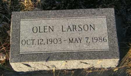 LARSON, OLEN - Lincoln County, South Dakota | OLEN LARSON - South Dakota Gravestone Photos
