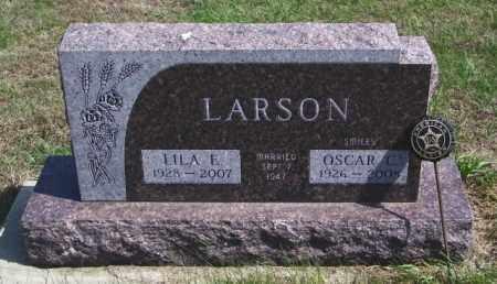 LARSON, OSCAR C - Lincoln County, South Dakota   OSCAR C LARSON - South Dakota Gravestone Photos