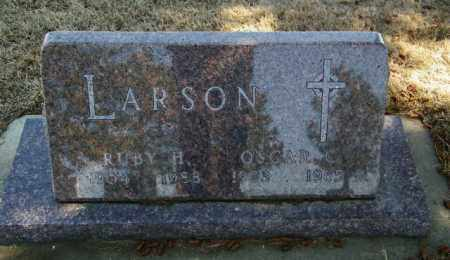 LARSON, RUBY H - Lincoln County, South Dakota   RUBY H LARSON - South Dakota Gravestone Photos