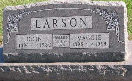 LARSON, MAGGIE - Lincoln County, South Dakota | MAGGIE LARSON - South Dakota Gravestone Photos