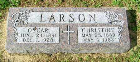 LARSON, CHRISTINE - Lincoln County, South Dakota | CHRISTINE LARSON - South Dakota Gravestone Photos