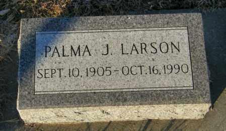 LARSON, PALMA J - Lincoln County, South Dakota | PALMA J LARSON - South Dakota Gravestone Photos