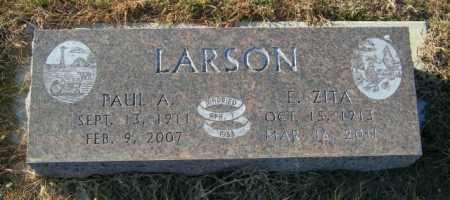 LARSON, E ZITA - Lincoln County, South Dakota | E ZITA LARSON - South Dakota Gravestone Photos