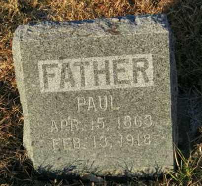 LARSON, PAUL - Lincoln County, South Dakota   PAUL LARSON - South Dakota Gravestone Photos