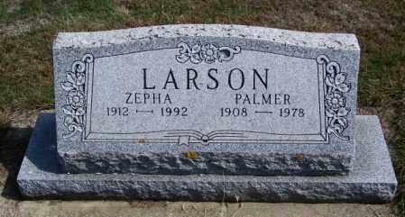 LARSON, ZEPHA - Lincoln County, South Dakota | ZEPHA LARSON - South Dakota Gravestone Photos