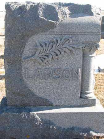 LARSON, PLOT - Lincoln County, South Dakota | PLOT LARSON - South Dakota Gravestone Photos