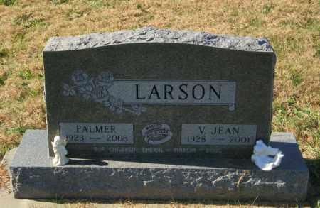 LARSON, V JEAN - Lincoln County, South Dakota | V JEAN LARSON - South Dakota Gravestone Photos