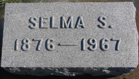 LARSON, SELMA S. - Lincoln County, South Dakota | SELMA S. LARSON - South Dakota Gravestone Photos