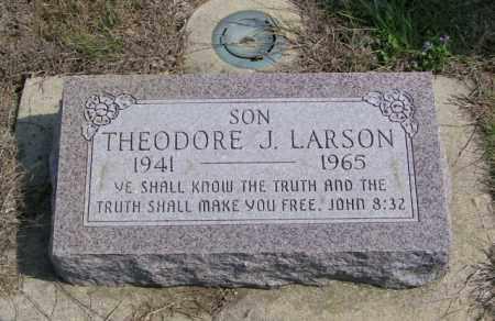 LARSON, THEODORE J - Lincoln County, South Dakota | THEODORE J LARSON - South Dakota Gravestone Photos