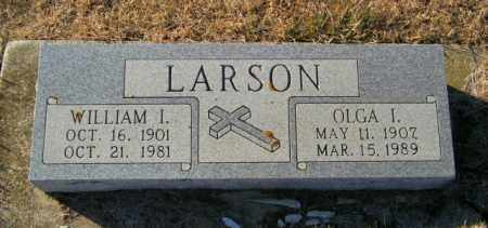 LARSON, WILLIAM I - Lincoln County, South Dakota | WILLIAM I LARSON - South Dakota Gravestone Photos