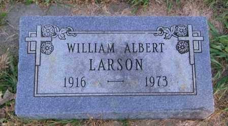LARSON, WILLIAM ALBERT - Lincoln County, South Dakota   WILLIAM ALBERT LARSON - South Dakota Gravestone Photos