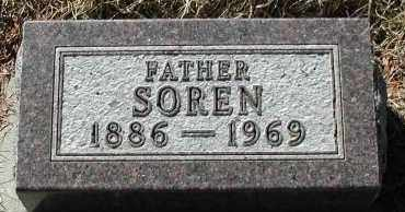 LAUSTSEN, SOREN - Lincoln County, South Dakota | SOREN LAUSTSEN - South Dakota Gravestone Photos