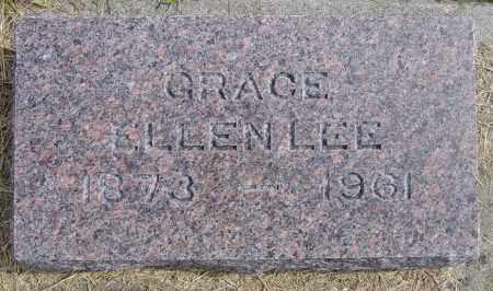 LEE, GRACE ELLEN - Lincoln County, South Dakota | GRACE ELLEN LEE - South Dakota Gravestone Photos