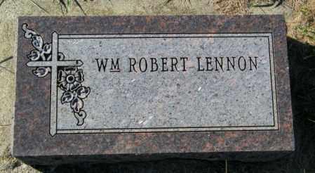 LENNON, WM ROBERT - Lincoln County, South Dakota | WM ROBERT LENNON - South Dakota Gravestone Photos