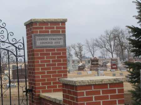 *LENNOX, FRONT GATE - Lincoln County, South Dakota | FRONT GATE *LENNOX - South Dakota Gravestone Photos