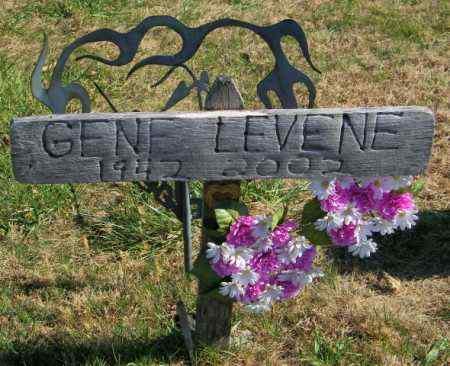 LEVENE, GENE - Lincoln County, South Dakota | GENE LEVENE - South Dakota Gravestone Photos